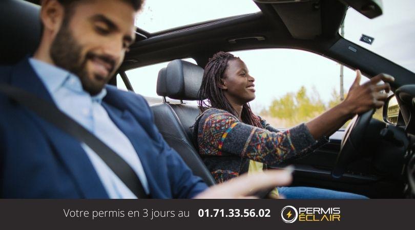 examen permis de conduire