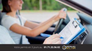 Resultat Permis de conduire