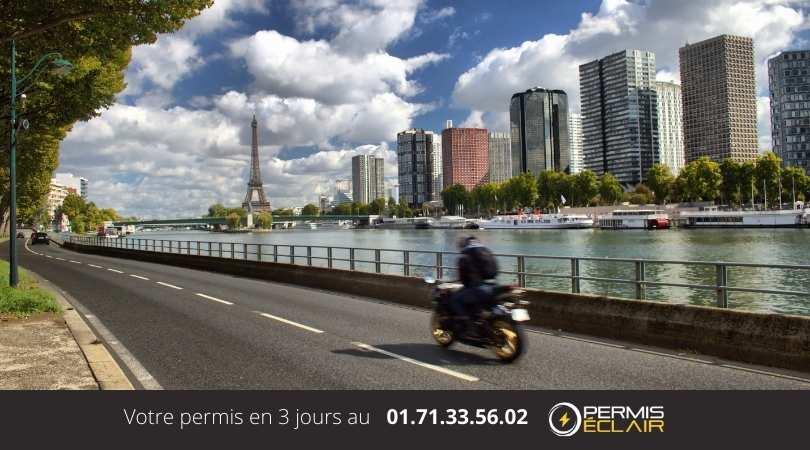 Permis de Conduire accélérer  paris
