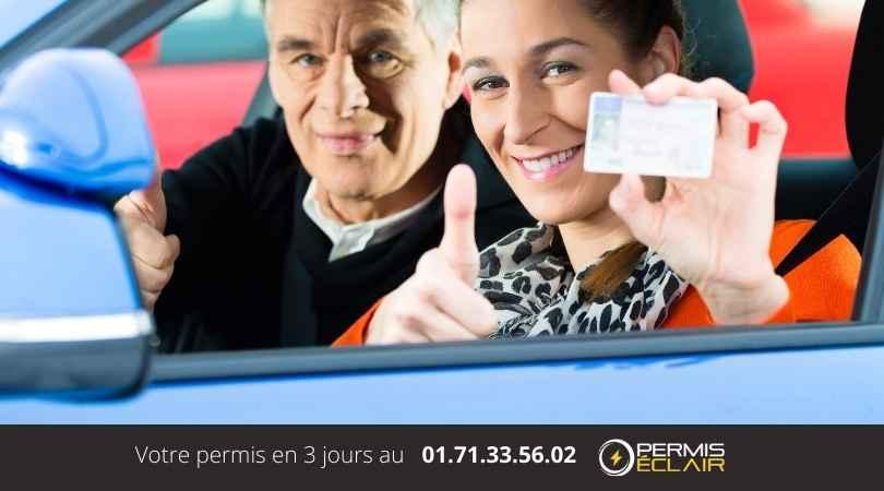 grille de notation permis de conduire