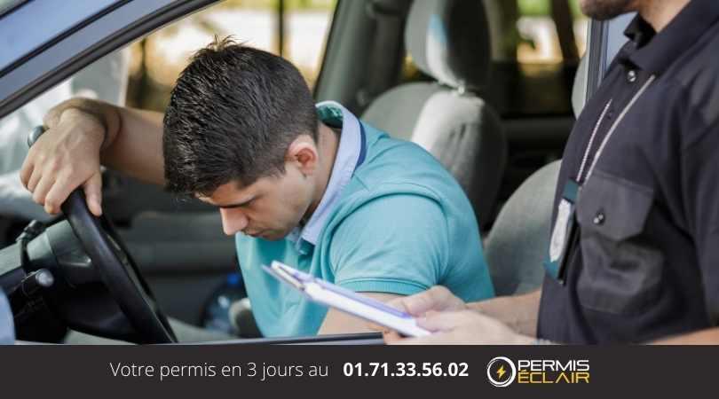 nombre de points permis de conduire