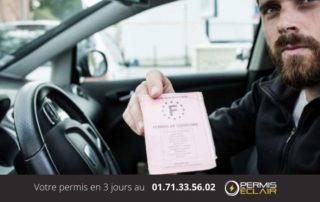 permis de conduire probatoire